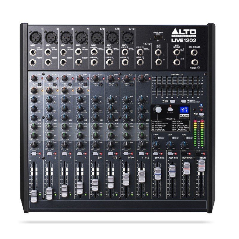 Alto live 1202 инструкция