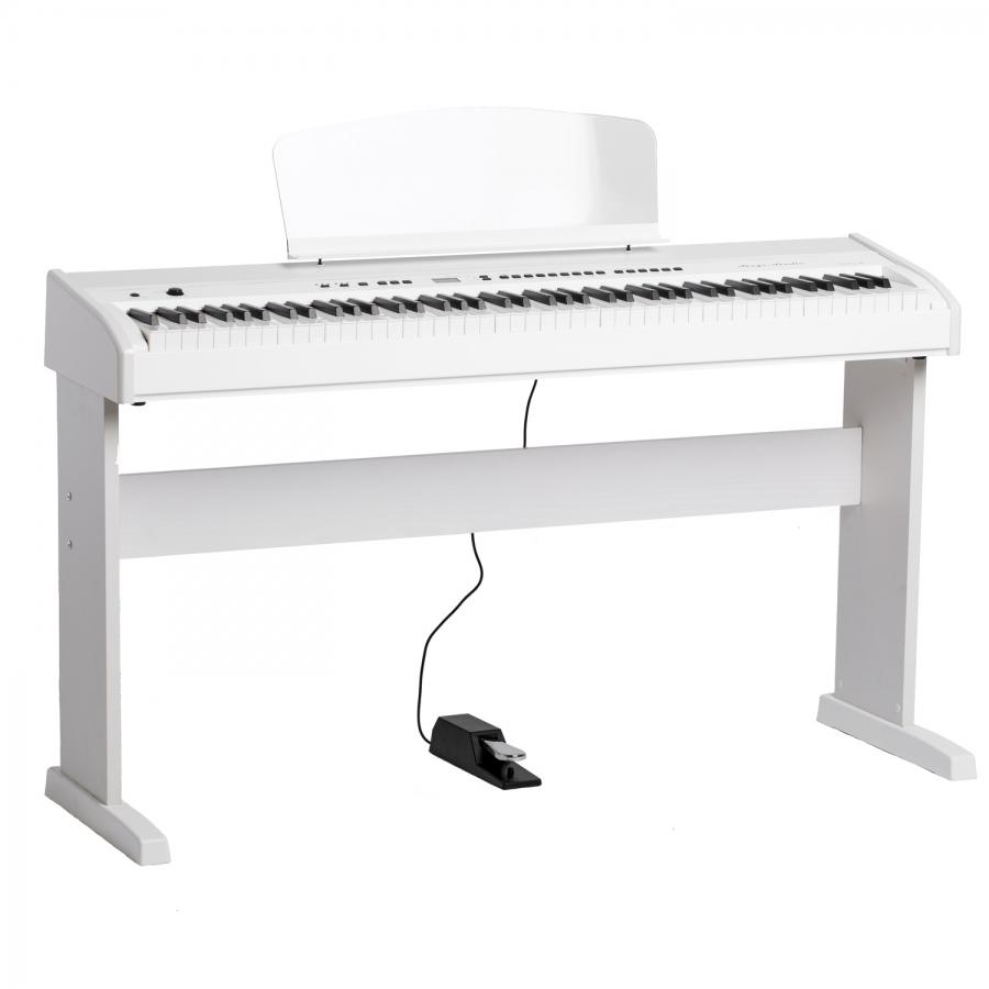 Цифровое пианино белое
