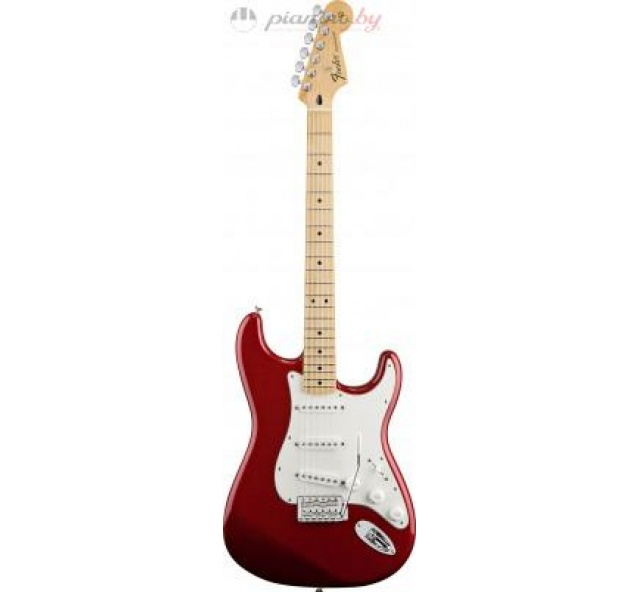 Электрогитара FENDER STANDARD STRATOCASTER MN CANDY APPLE RED TINT