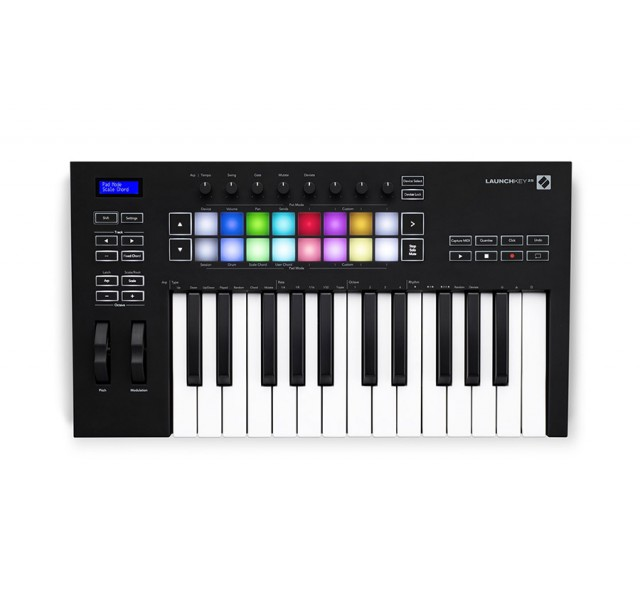 MIDI-клавиатура  Novation Launchkey 25 MK3