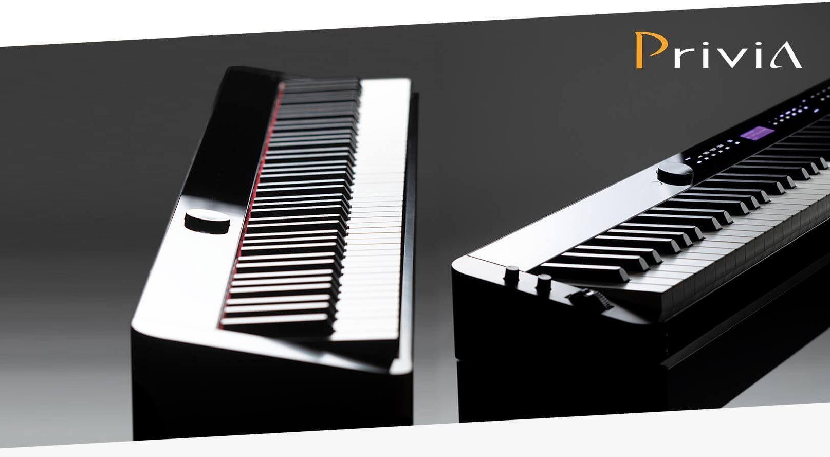 Обзор: отличия пианино Casio Privia PX-S1000 и S3000